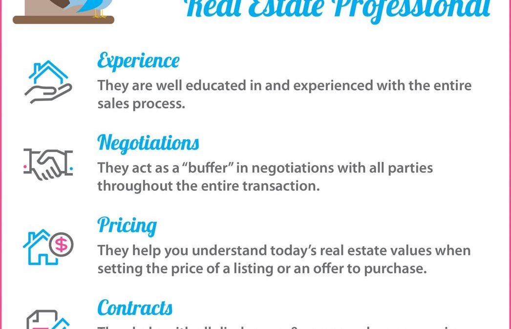 5 Reasons to Love Hiring A Real Estate Pro [INFOGRAPHIC]